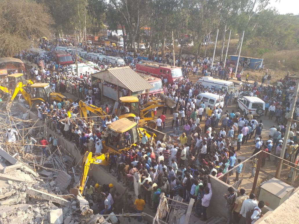 Dharwad, Karnataka, Building Collapse, News Mobile, News Mobile India