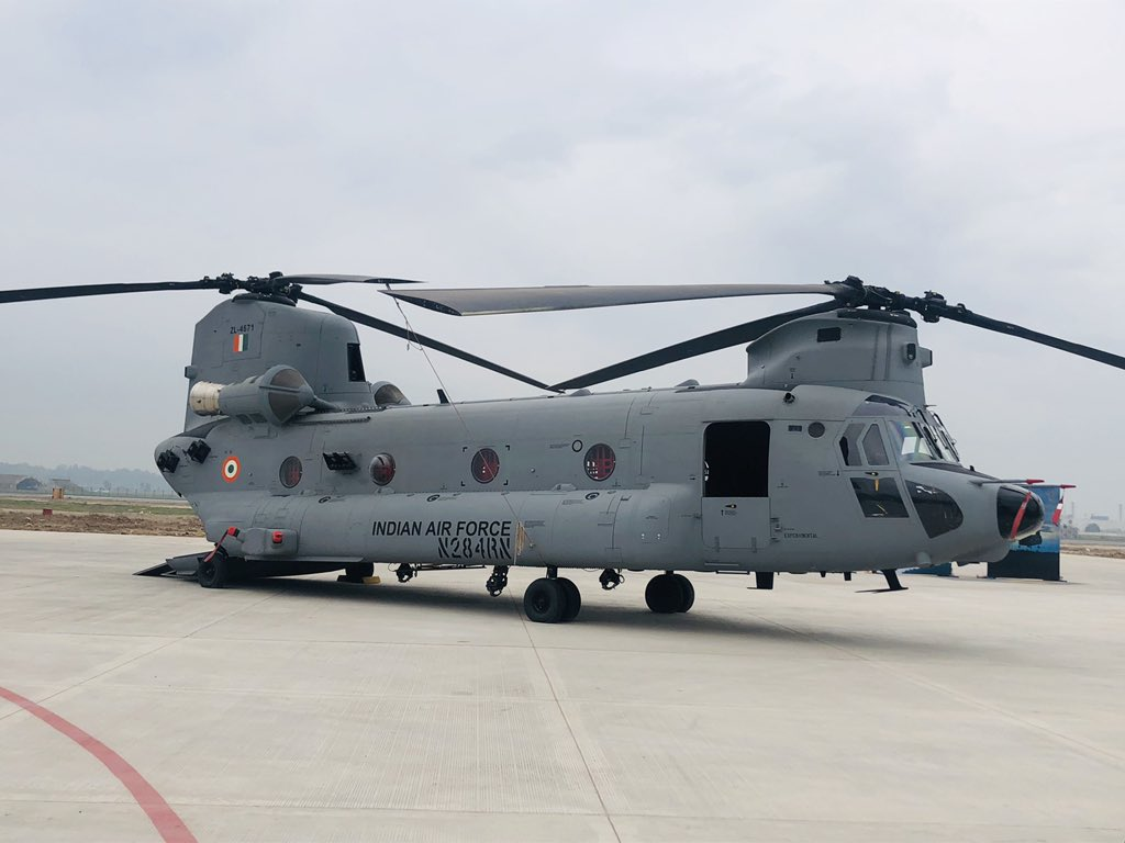 Indian Air Force, Chinook helicopters, BS Dhanoa, Chandigarh, News Mobile, News Mobile India