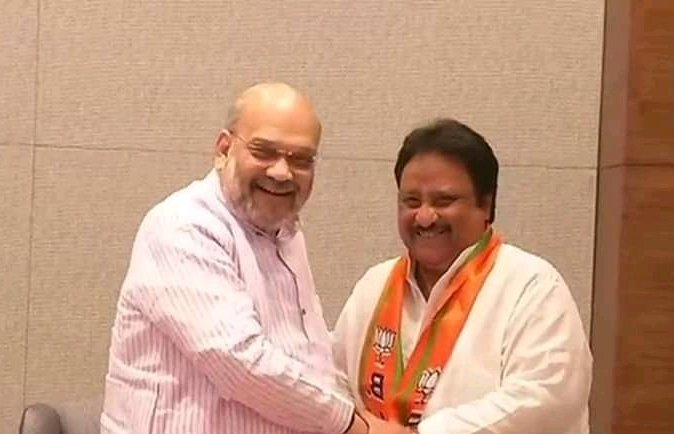 TRS, MP, Jithender Reddy, Joined BJP, Lok Sabha Elections 2019, News Mobile, News Mobile India
