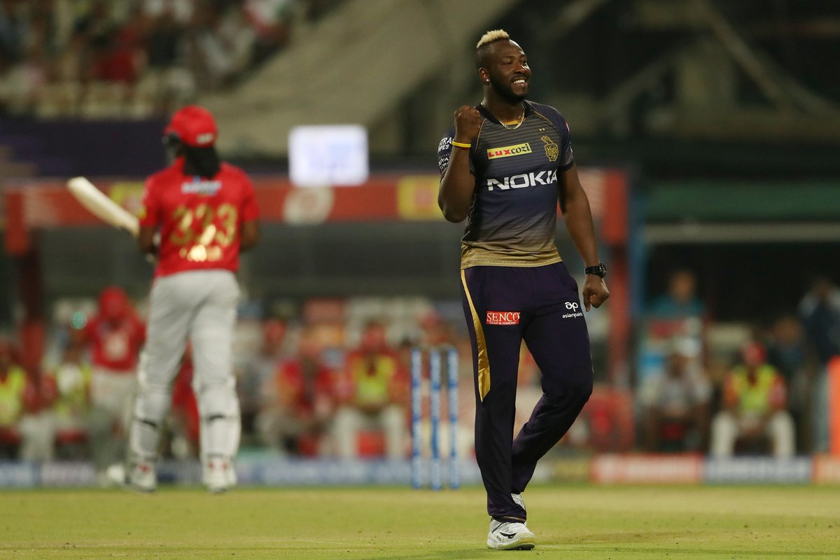 Andre Russell, KKR, KXIP, IPL 2019, News Mobile, News Mobile India