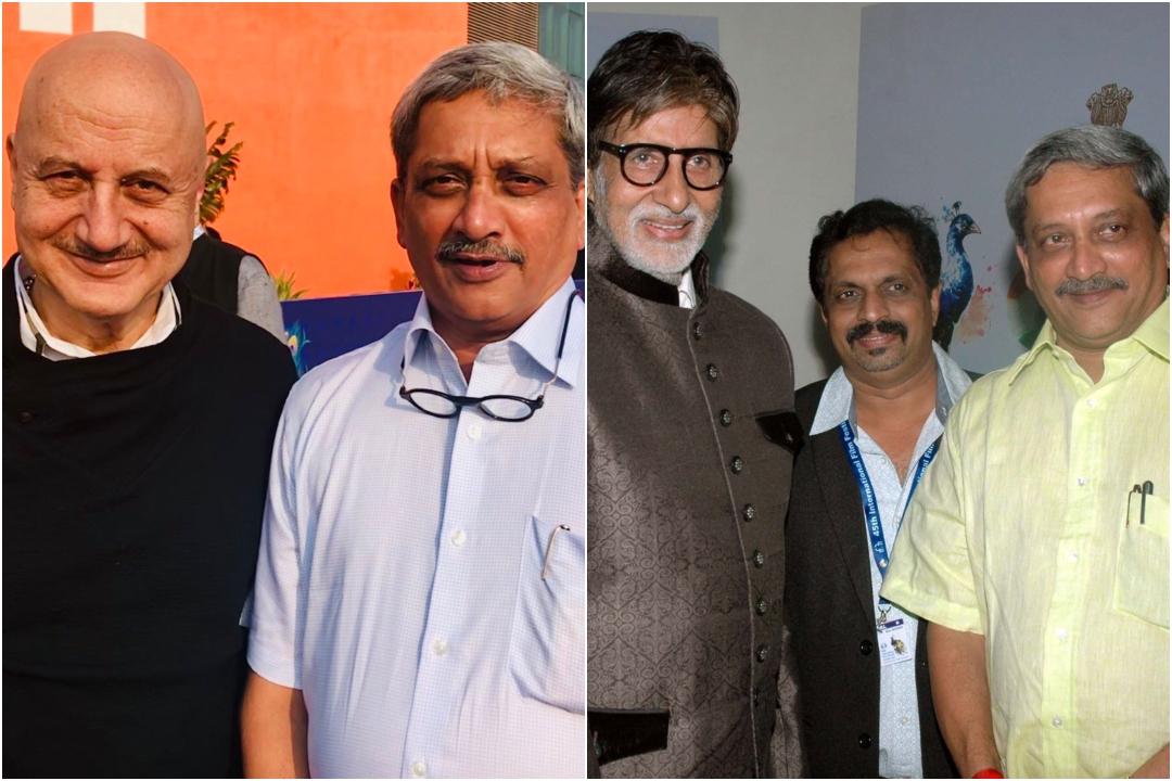 Amitabh Bachchan and other celebs extend condolences on the death of Goa CM Manohar Parrikar