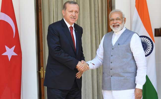 Turkey, President, Recep Tayyip Erdogan, PM Modi, Prime Minister, Narendra Modi, NewsMobile, Mobile, News, India, Terrorism