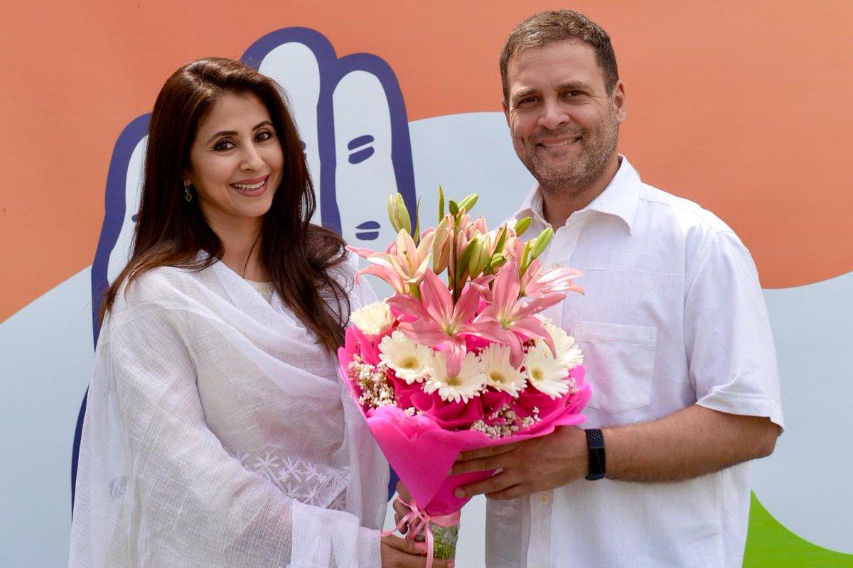 Urmila Matondkar, Mumbai North, Lok Sabha, Elections, 2019, NewsMobile, Mobile, News, India