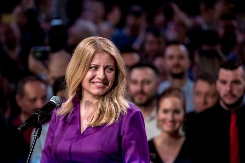 Anti-corruption activist Zuzana Caputova elected Slovakia's first female president