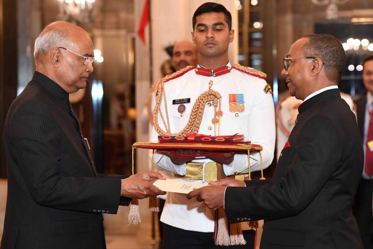 Chile, Bulgaria, the Kyrgyz Republic, Nepal, Montenegro, Prez Of India, Ram Nath Kovind,