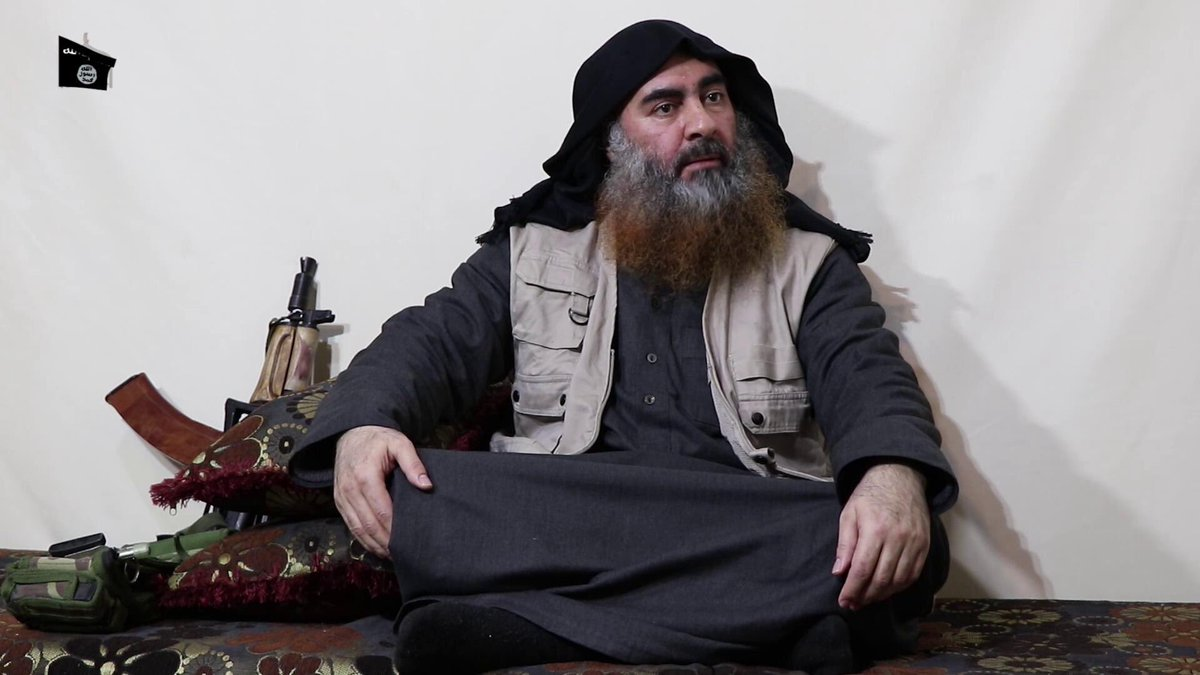 Abu Bakr al-Baghdadi, ISIS, Leader, Video, Sri Lanka, India, Terror, Terrorism, NewsMobile, Mobile, News, India, Iraq and the Levant's, ISIL, Syria