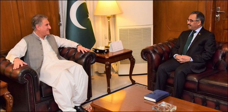 Sohail Mahmood, Pak Foreign Secy, FM Qureshi, Pakistan, News Mobile, News Mobile India
