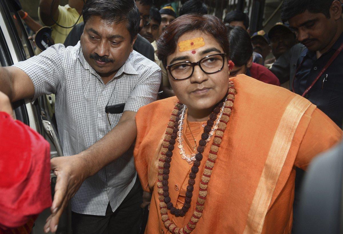 BJP, Sadhvi Pragya Singh Thakur, Hemant Karkare, Lok Sabha Elections 2019, News Mobile, News Mobile India