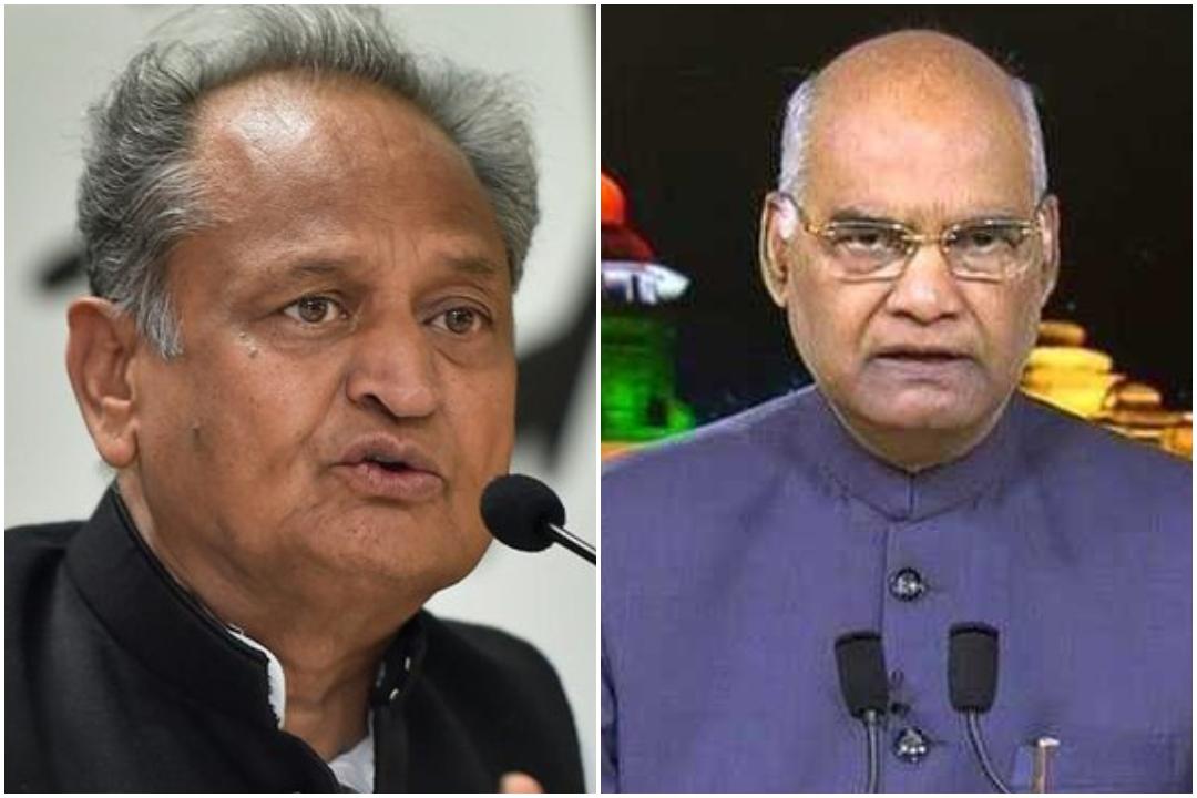 BJP, Rajasthan CM Ashok Gehlot, President Kovind, Congress, Lok Sabha Elections 2019, News Mobile, News Mobile India