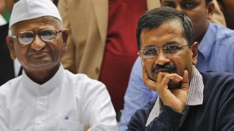 Arvind Kejriwal, Anna Hazare, AAP, Fact Check, Fact Checker, NewsMobile, Mobile, News, India