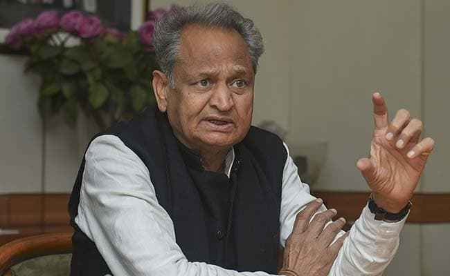 Ashok Gehlot, ruckus, anger, Lord Ram, NewsMobile, Mobile, News, India, Politics, Rajasthan, Chief Minister