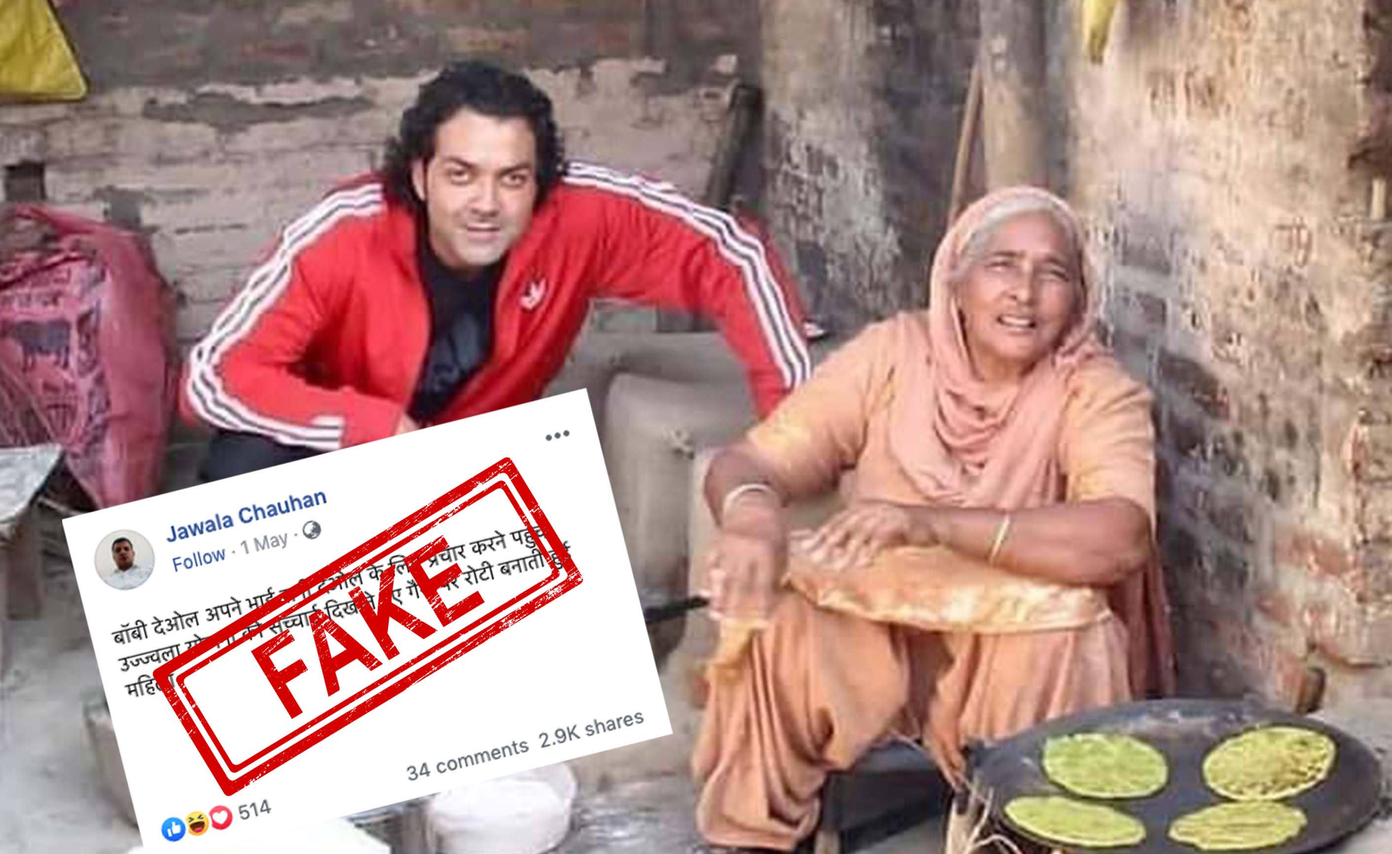 Bobby Deol, Sunny Deol, Politics, Lok Sabha, Newsmobile, Mobile, News, India, Fact Check, Fact Checker, NewsMoble