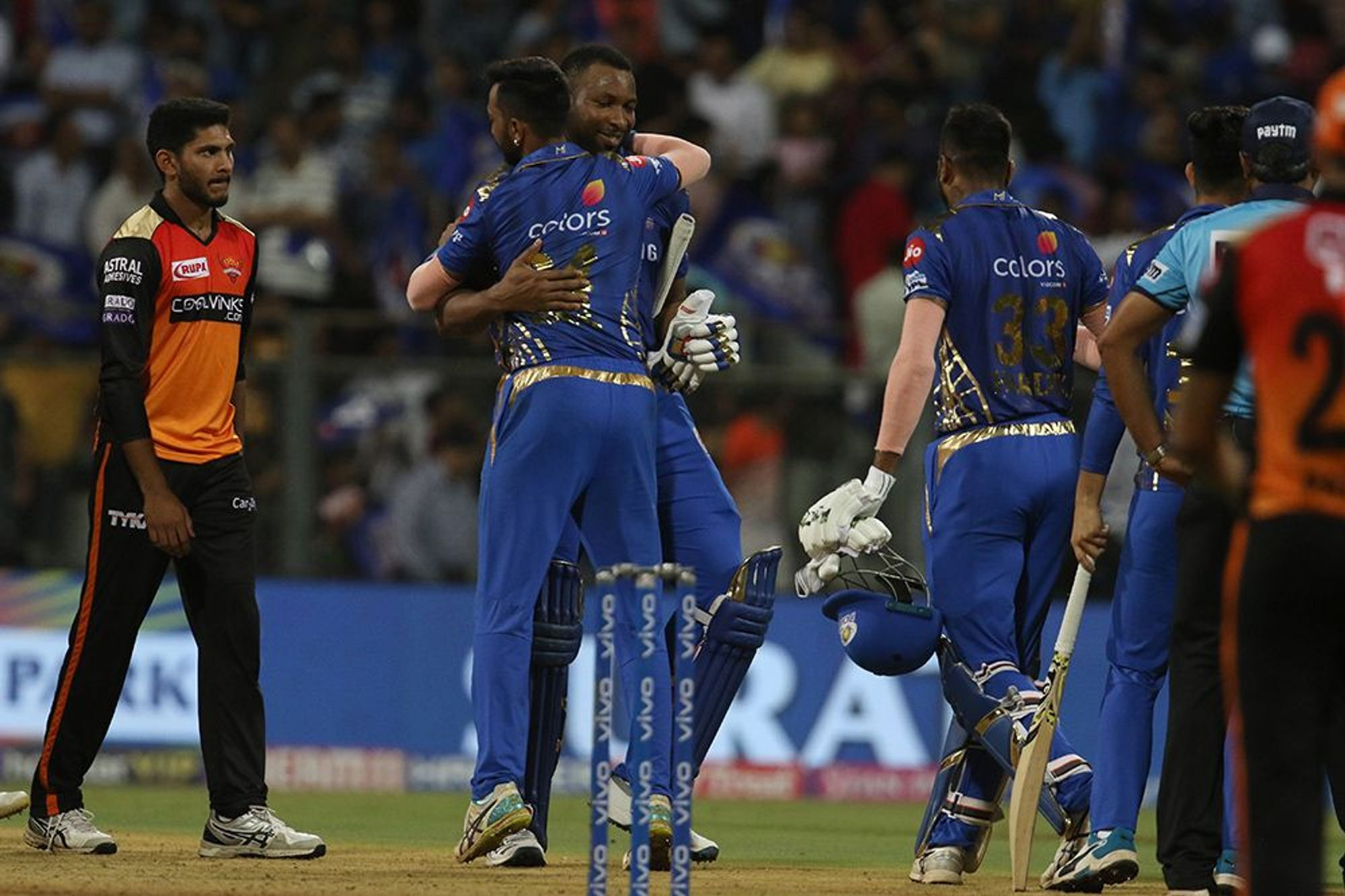 Mumbai Indians, Sunrisers Hyderabad, MI, SRH, Rohit Sharma, NewsMobile, Sports, Cricket, IPL, 2019, Mobile, News, India