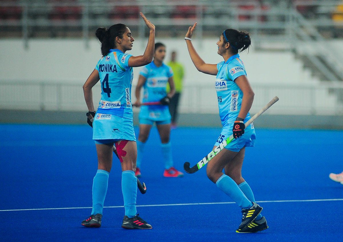 Indian Women's Hockey, Republic Of Korea, Bilateral Series, News Mobile, News Mobile India
