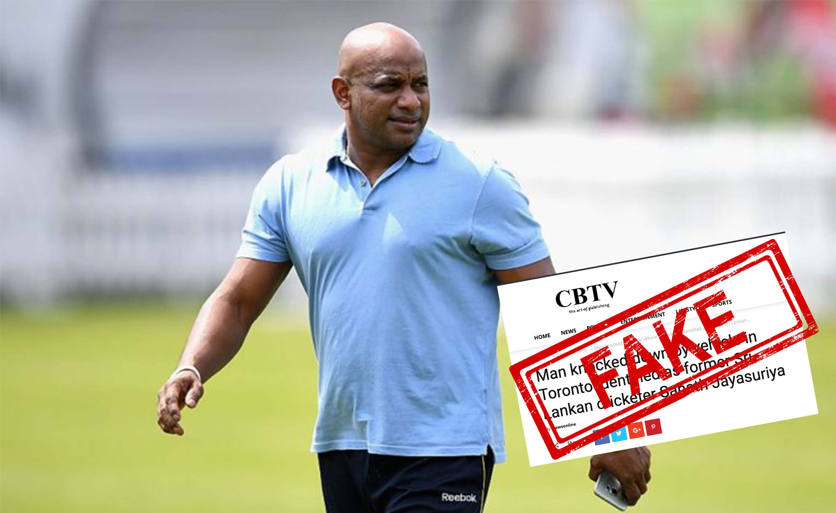 Sanath Jayasuriya, Canada, Sri Lanka, Cricketer, Legend, Batsman, Inida, Fact Check, Fact Checker, Fake, News, India
