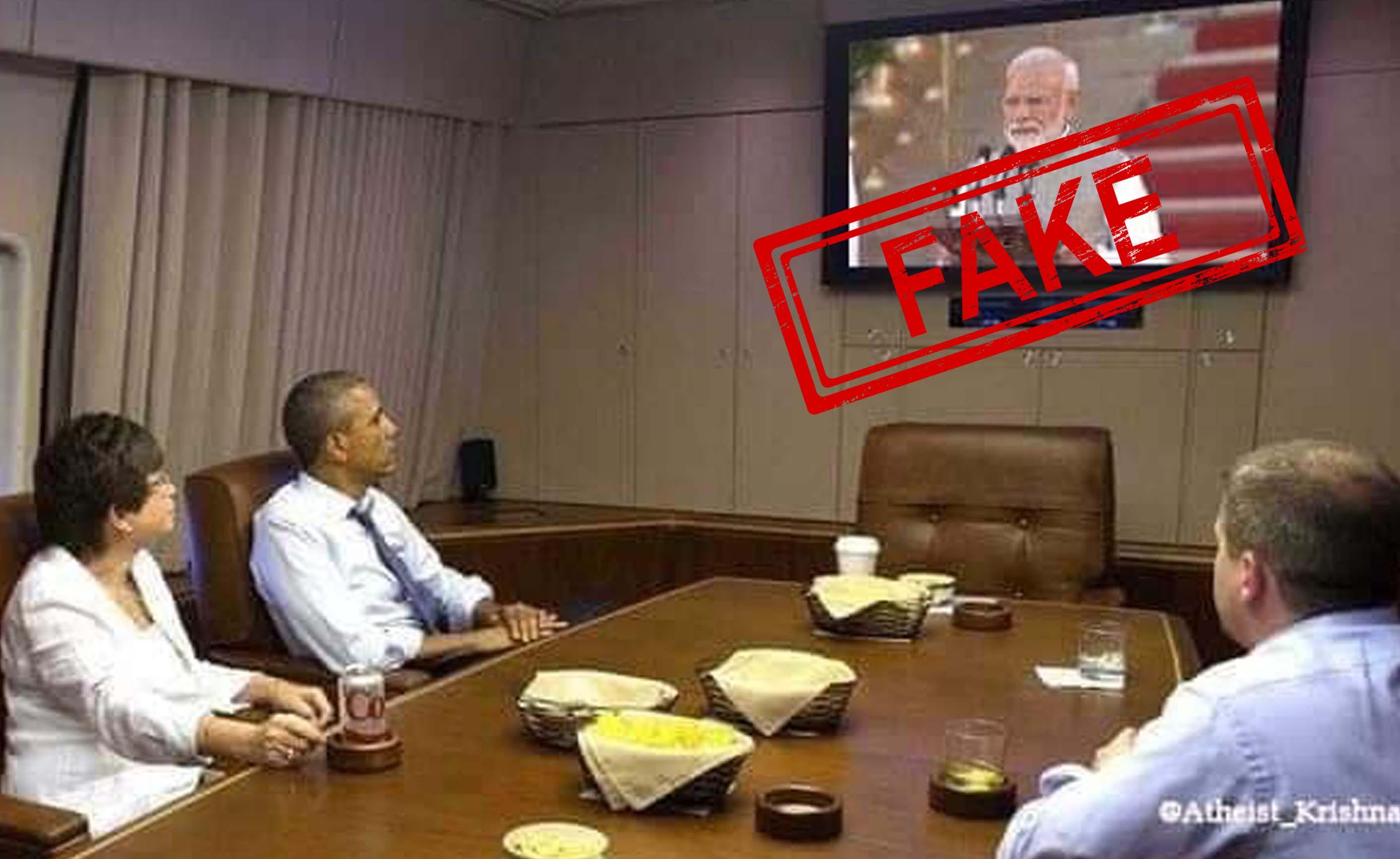 Barack Obama, Former, United States, President, Barack Obama, Prime Minister, Narendra Modi, Swearing in, NewsMobile, Mobile, News, India, Fact Check, Fact Checker, India
