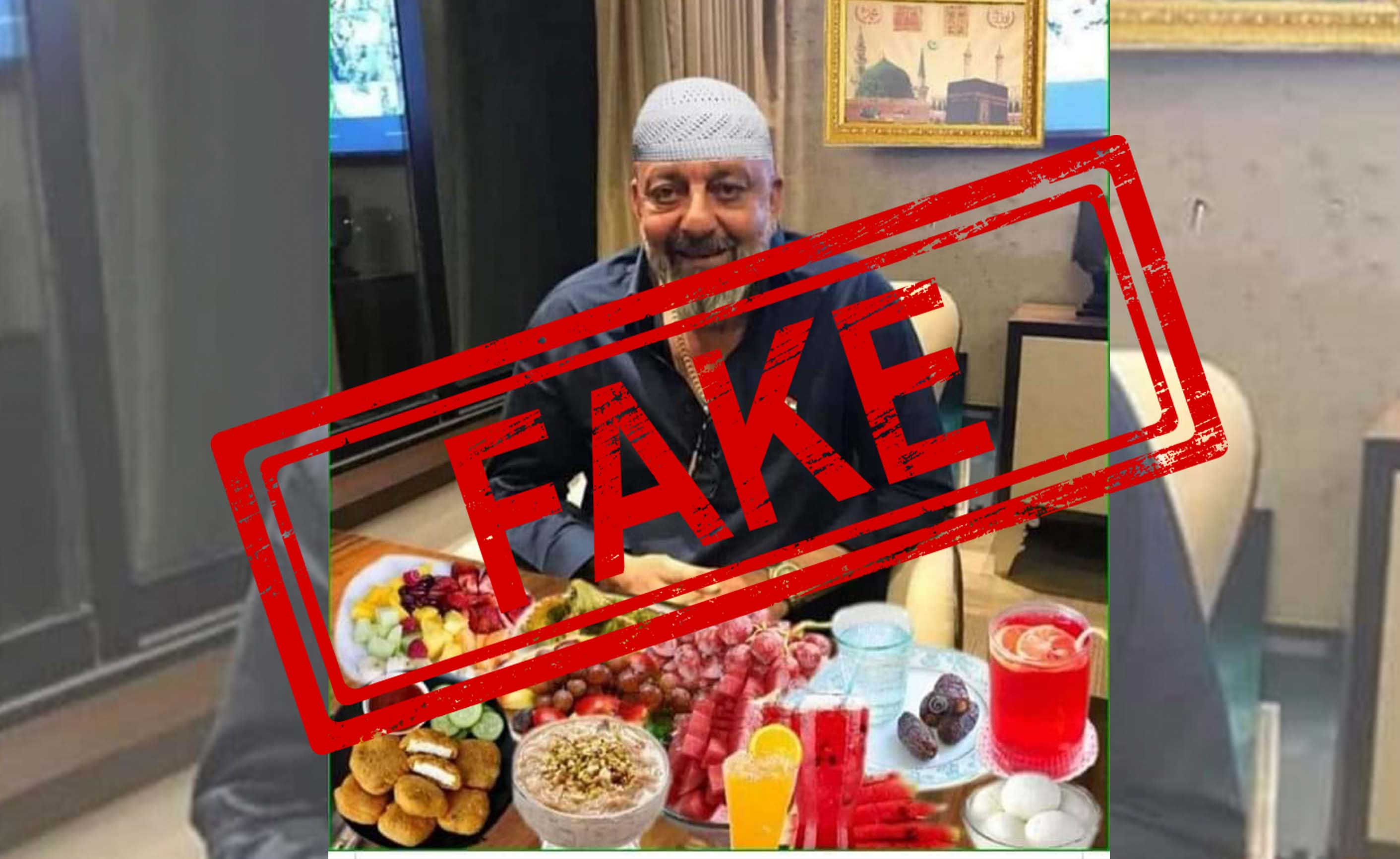 Sanjay Dutt, Iftar, Roza, Ramzan, NewsMobile, Mobile, News, India, Mobile, News, India, Fact Check, Fact Checker, Fake, News
