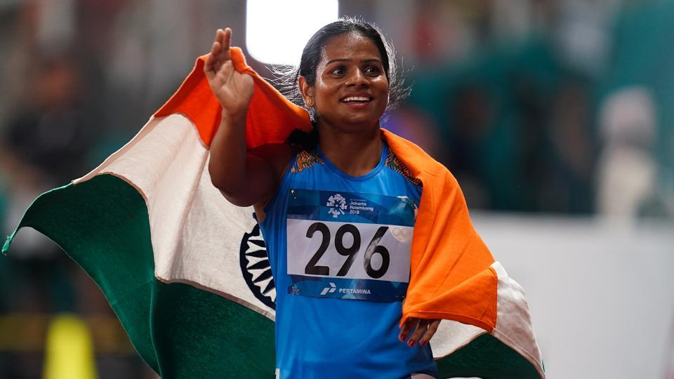 Dutee Chand, Asian Games 2018, Champion, Same-Sex Relationship, Athlete, News Mobile. News Mobile India