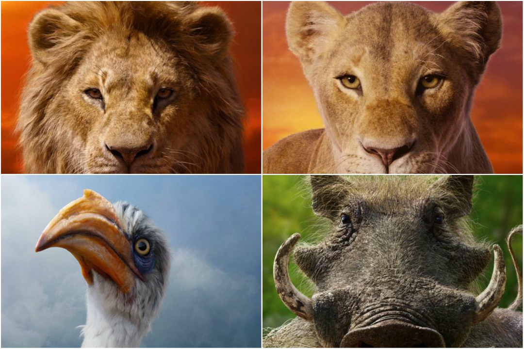 Disney Releases Character Posters Of The Lion Kings Remake