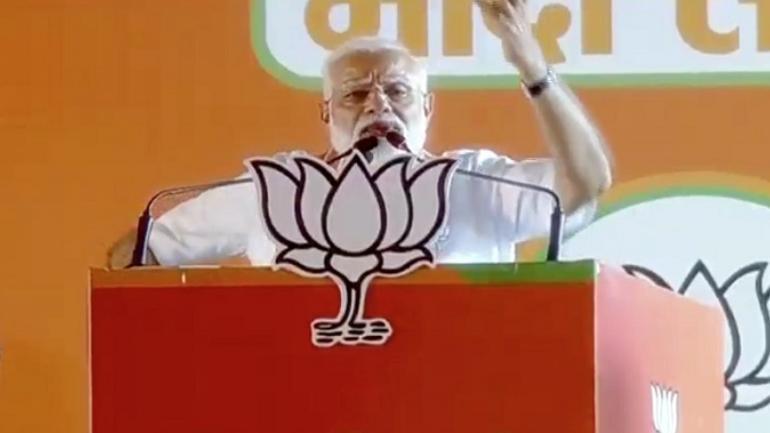 PM Narendra Modi, INS Viraat, Ramlila Maidan, Delhi, BJP, Congress, Rajiv Gandhi, Lok Sabha Elections 2019, News Mobile, News Mobile India