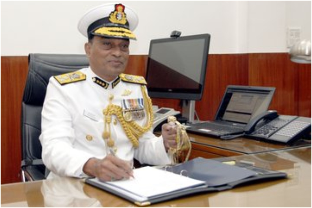 K Natarajan, Indian Coast Guard, Chief, News Mobile, News Mobile India