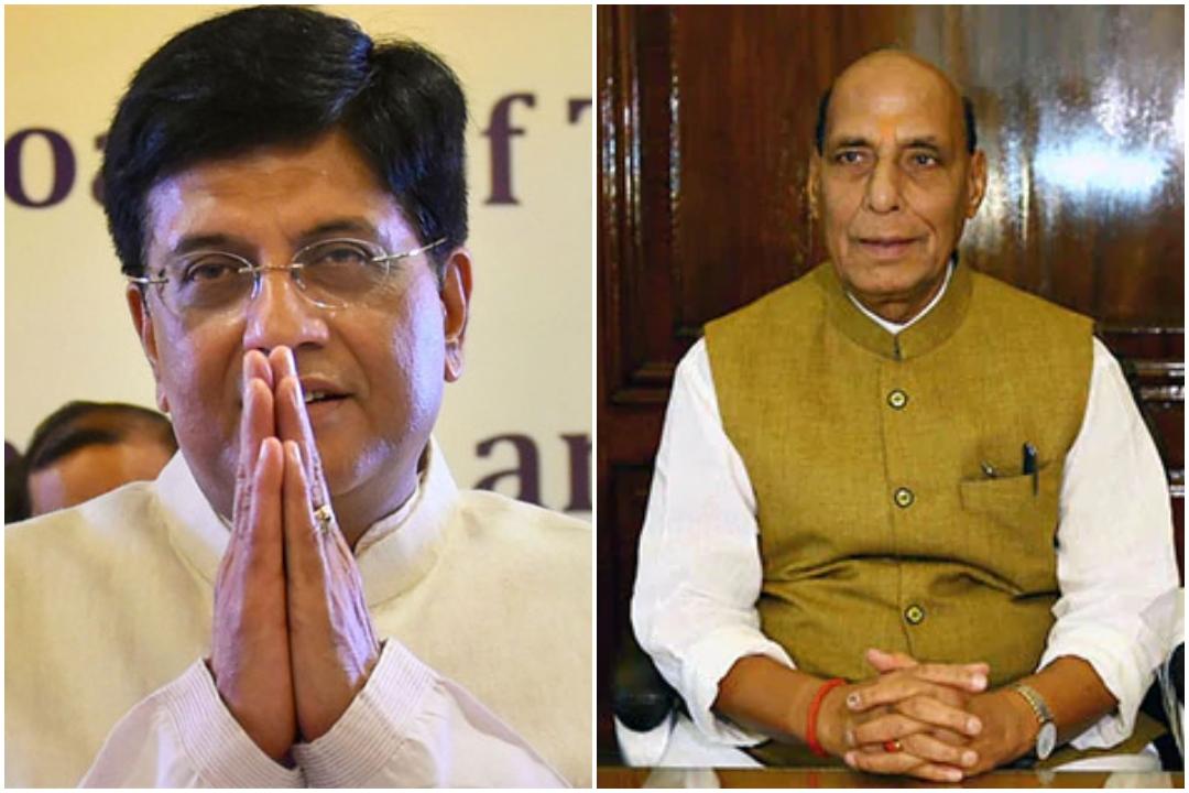 Piyush Goyal, Rajnath Singh, Deputy Leader, Rajya Sabha, Lok Sabha, News Mobile, News Mobile India