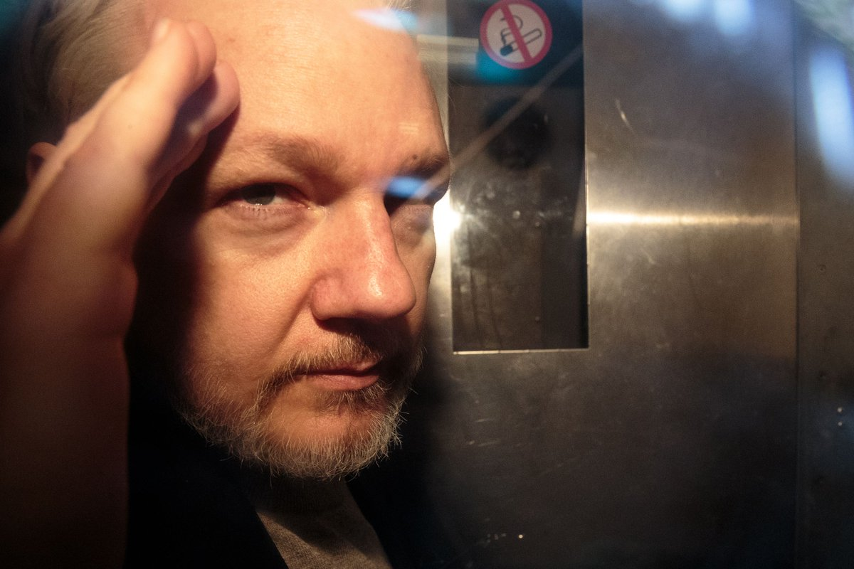 Julian Assange, extradition, WiKi Leaks, London, Court, February, 2020, NewsMobile, Mobile, news, India, World