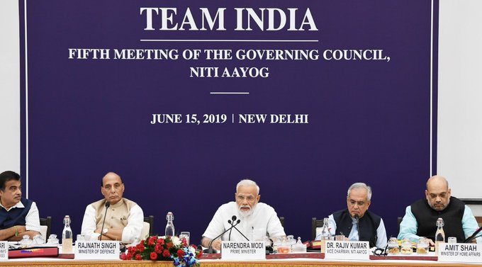 Niti Aayog, Governing Council Meet, PM Narendra Modi, Modi 2.0, Rajnath Singh, Nitin Gadkari, News Mobile, News Mobile India