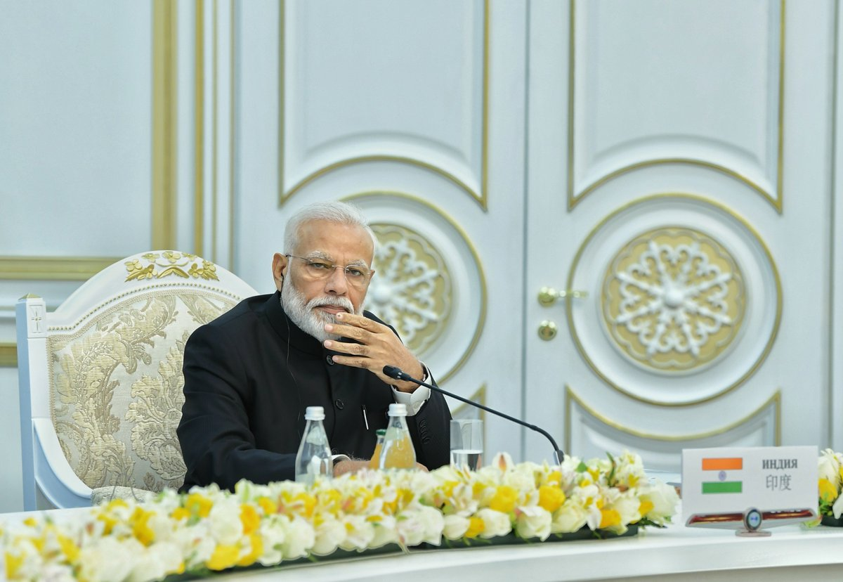 Prime Minister, Narendra Modi, SCO Summit, 2019, Bishkek, Pakistan, terrorism, NewsMobile, Mobile, News, India