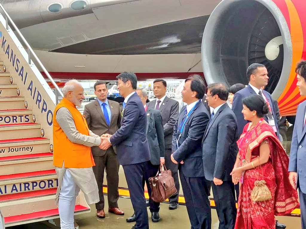 Prime Minister, Narendra Modi, NewsMobile, Osaka, G20 Summit, Summit, United States, President, Donald Trump, Japan, Mobile, News, India, WOrld