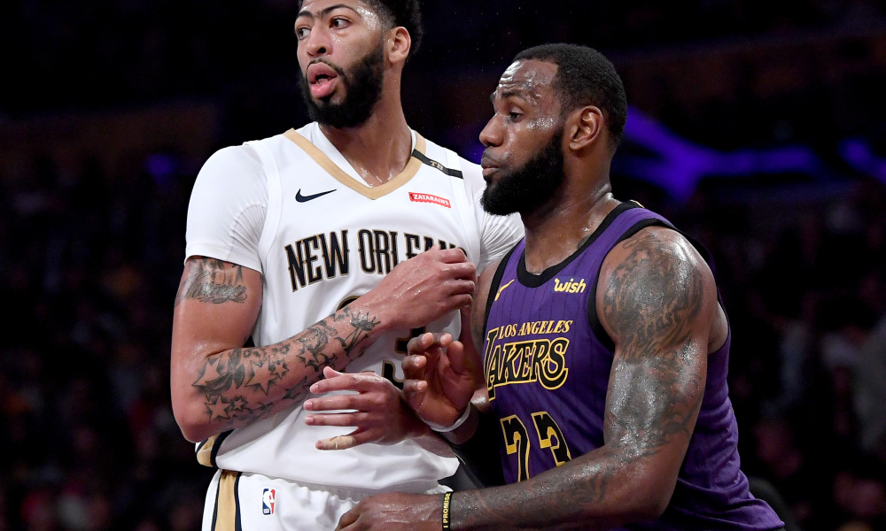Pelicans, Anthony Davis, Los Angeles Lakers, News Mobile, News Mobile India, Magic Johnson, Lebron James