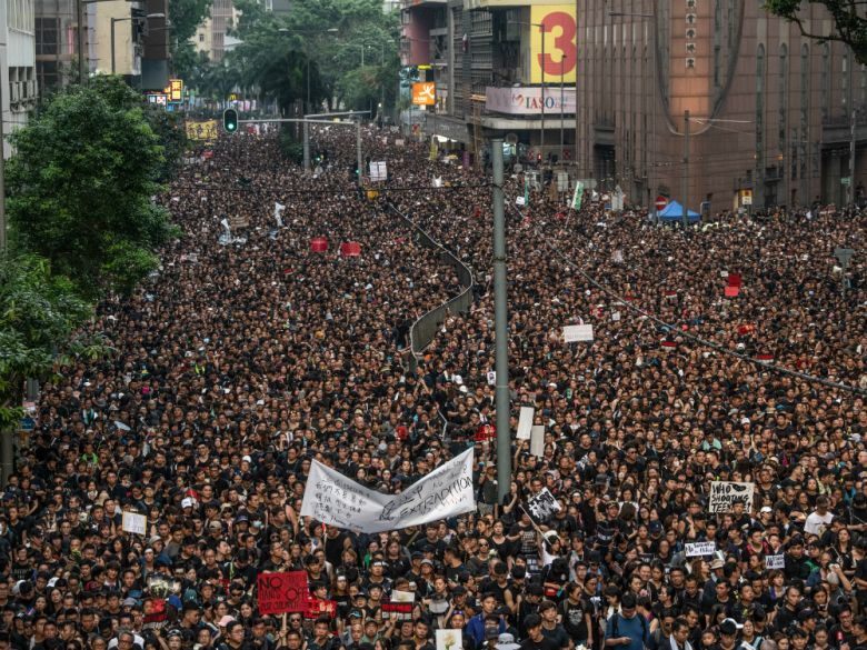 Hong Kong, Protests, Carrie Lam, China, legislative bill, India, World, NewsMobile, student unrest