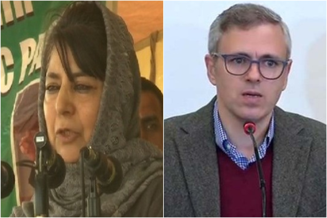 PDP Chief Mehbooba Mufti, National Conference Chief Omar, Triple Talaq Bill, News Mobile, News Mobile India