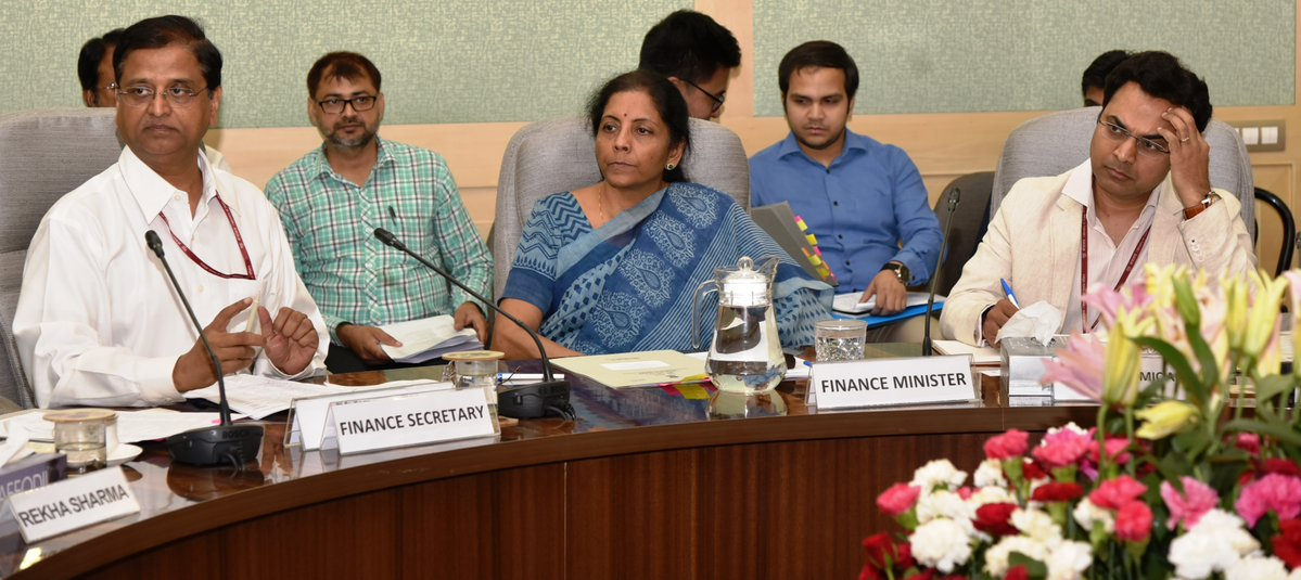 Budget, 2019-20, Finance Minister, NewsMobile, Mobile, News, India, Nirmala Sitharaman, Finance Minister, Parliament, Budget Session, Parliament, India