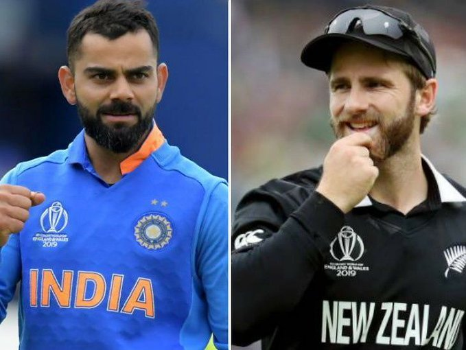 Virat Kohli, Kane Williamson, New Zealand, Cricket World Cup 2019, News Mobile, News Mobile India