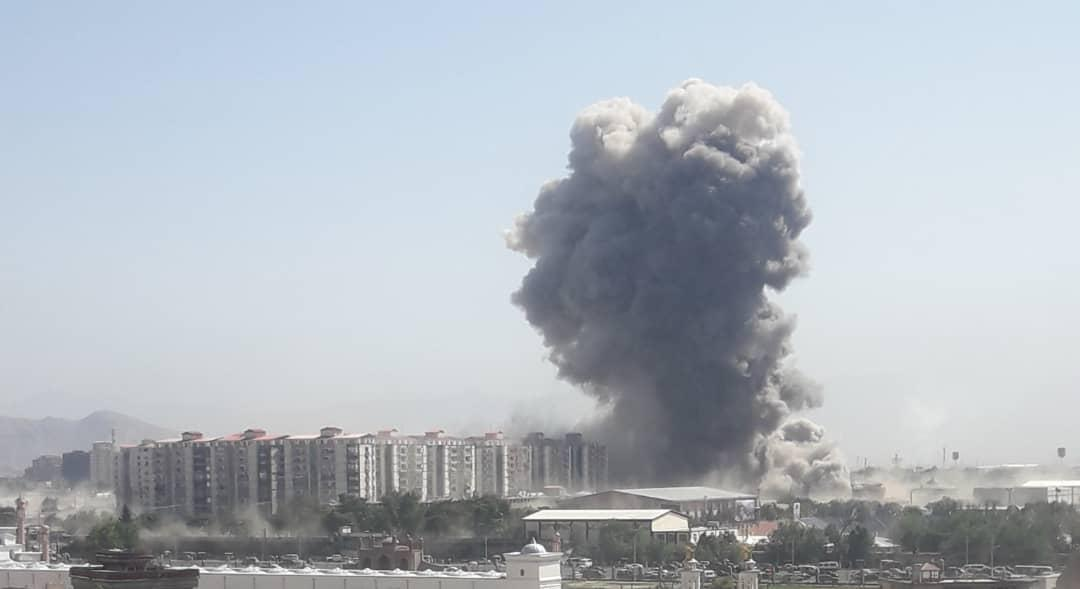 Explosion, Blast, Afghanistan, Capital, Kabul, newsMobile, mobile, News, World