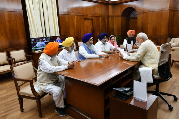 SGPC, SAD, PM Modi, 550th Birth Anniversary of Shri Guru Nanak Devji in 2019, News Mobile, News Mobile India