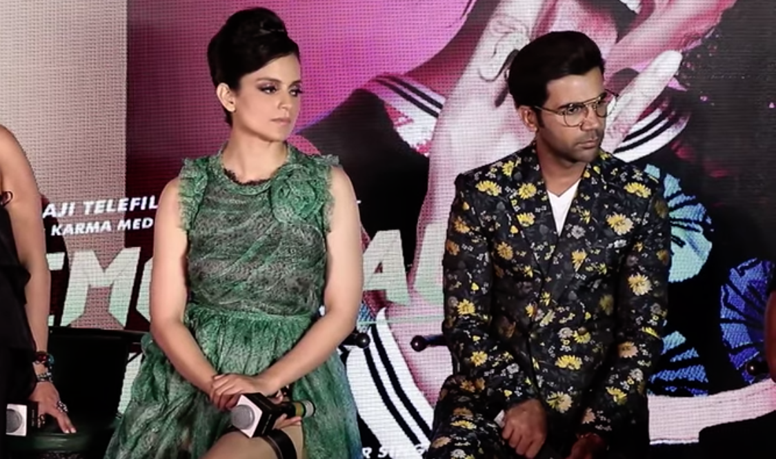 Judgementall Hai Kya, Kangana Ranaut, Rajkumar Rao, Ekta Kapoor, newsMobile, Journalist, Entertainment, Mobile, News, Song, Launch, Entertainment, Mumbai