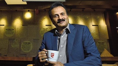 VG Siddhartha, Cafe Coffee Day, founder, SM Krishna, Son-in-law, Karnataka, Newsmobile, Mobile, News, India