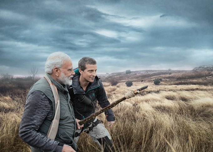 Bear Grylls, Man Vs Wild, Pm Narendra Modi, Discovery Channel, News Mobile, News Mobile India