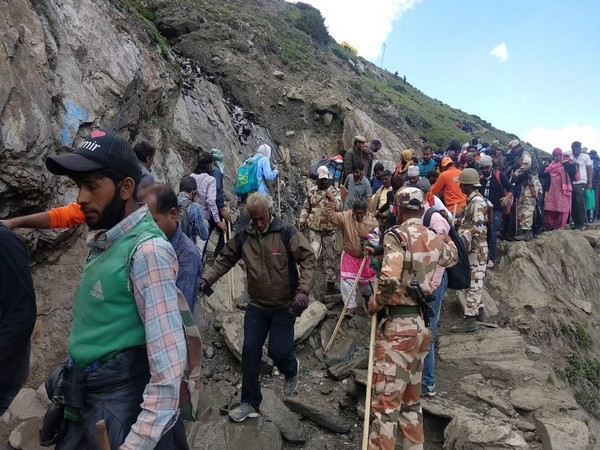Amarnath Yatra, Jammu And Kashmir, ITBP, Indo-Tibetan Border Police, News Mobile, News Mobile India