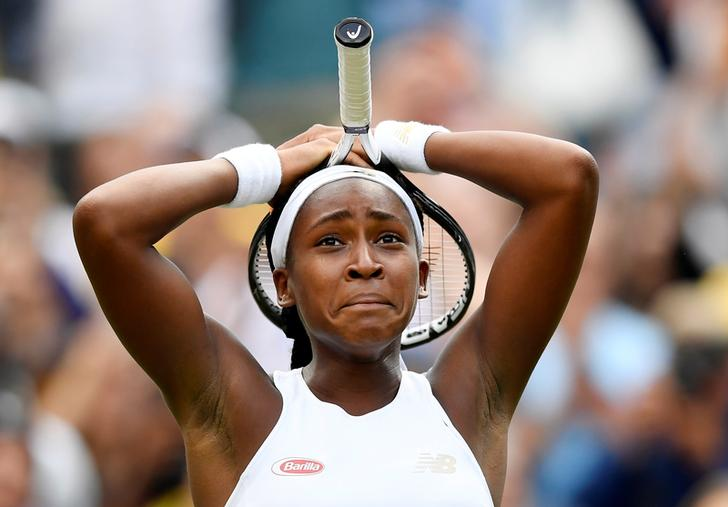 Cori Gauff, Venus Williams, Wimbledon, 2019, News Mobile, News Mobile India