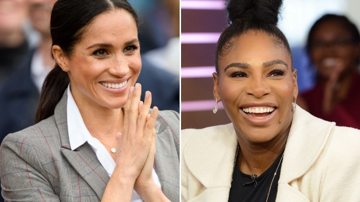 Serenawilliams, MeganMarkle, Wimbledon, Newsmobile, NewsMobileIndia
