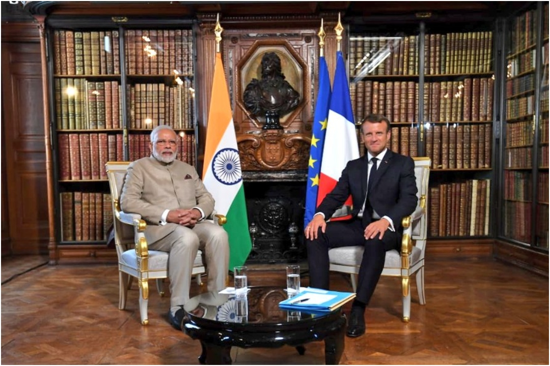 Bilateral talks, French President Emmanuel Macron, NewsMobile, Newsmobile india, PM Narendra Modi, France