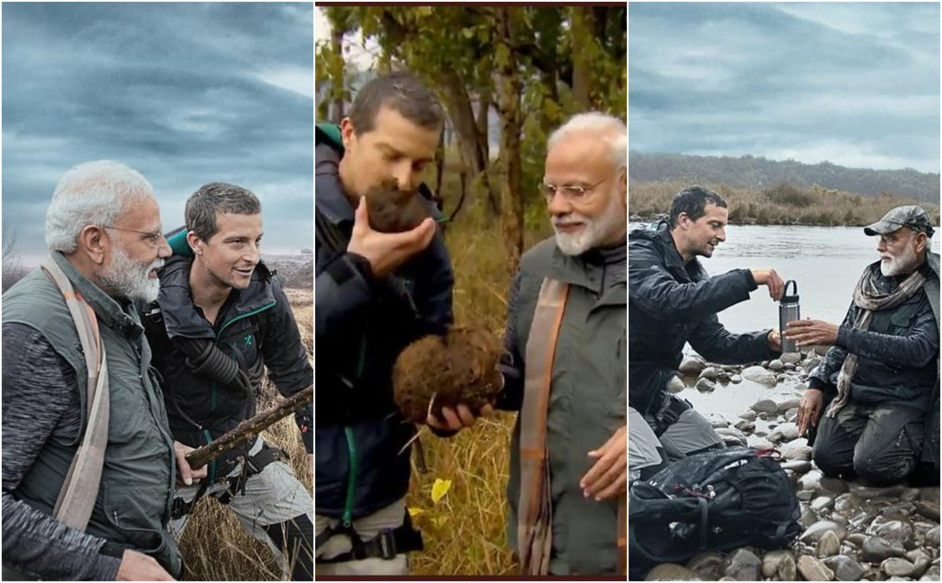PM Narendra Modi, Bear Grylls, Discovery, Man Vs Wild, News Mobile, News Mobile India