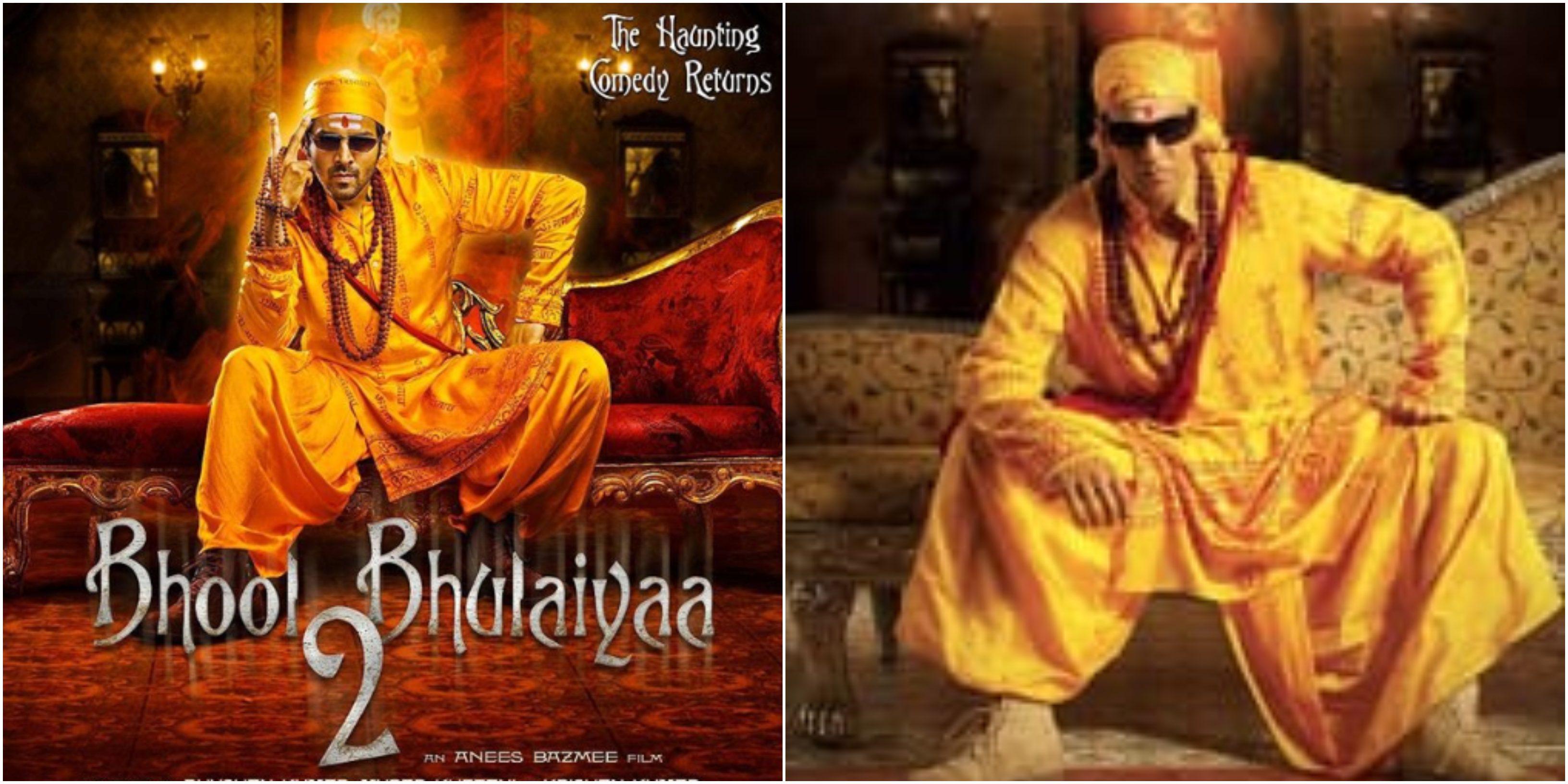 Bhool Bhulaiyaa 2, Kartik Aaryan, Akshay Kumar, Bollywood, NewsMobile, Mobile, News, India, Entertainment, Bollywood
