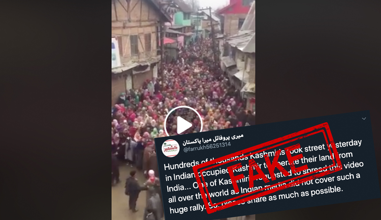 Kashmir, Jammu and Kashmir, Protest, Fact Check, Fact Checker, Fake, NewsMobile, Mobile, News, India, Article 370