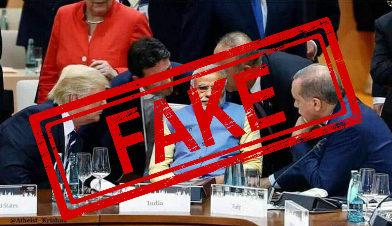 Prime Minister, Narendra Modi, World Leaders, Turkey, Recep Tayyip Erdogan, Angela Merkel, Germany, United States, President, Donald Trump, G20, NewsMobile, Mobile, News, Fact Check, Fact Checker, FAKE, News