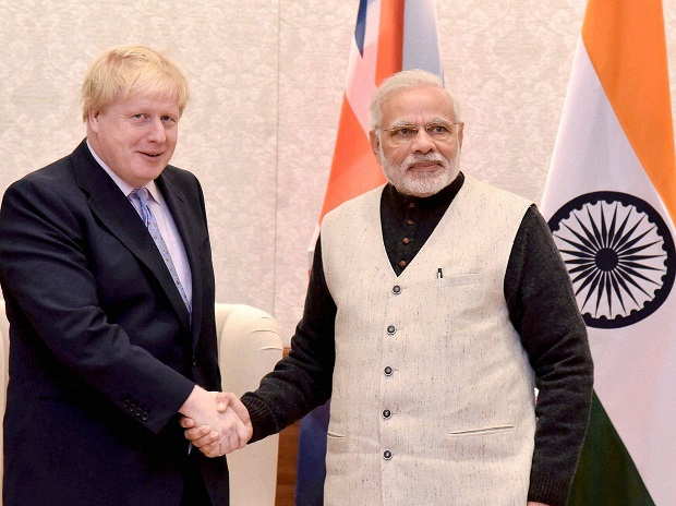PM, Narendra Modi, Boris Johnson, United Kingdoms, UK, British, Prime Minister, India, NewsMobile, Mobile, News, Kashmir