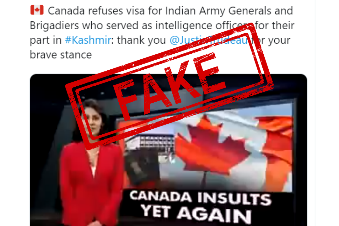 Fake, Fake News, Viral, Viral Post, Indian Army, Canada, NewsMobile, NewsMobile India